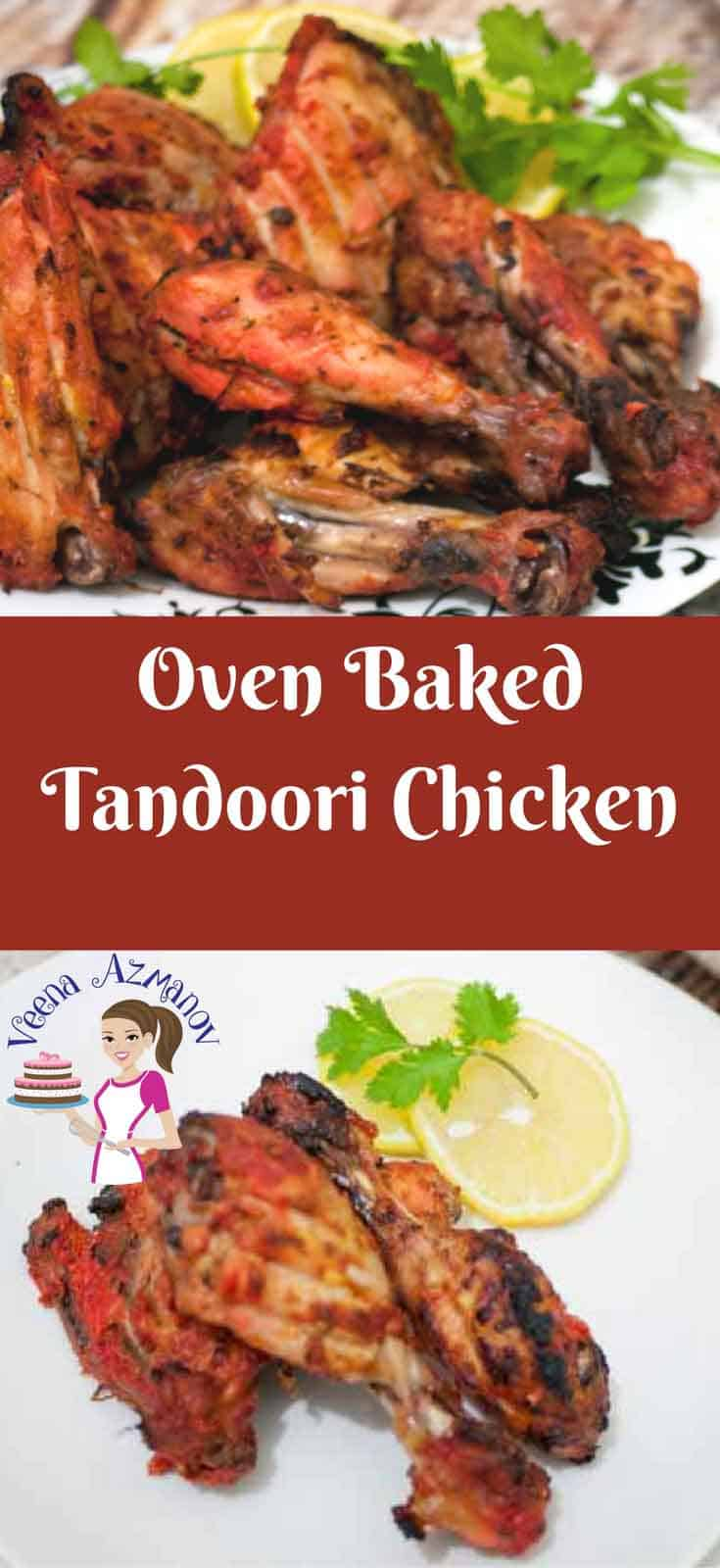 This classic Indian Tandoori Chicken is easier than you think to make at home. A good marinade, a hot oven for 30 minutes is all it takes to prepare these succulent chicken legs.