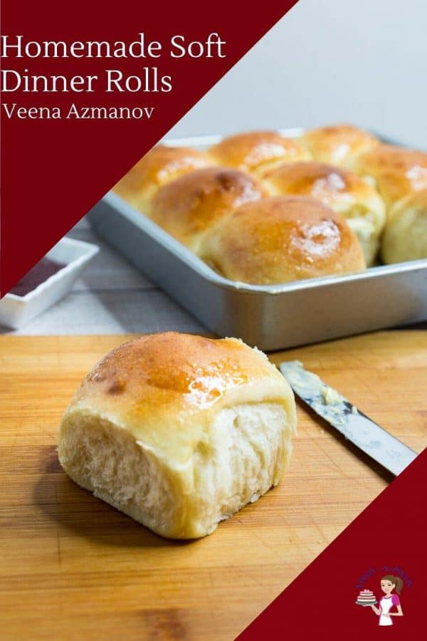 How to Make the best Homemade Bread Rolls for Dinner with just 5 ingredients