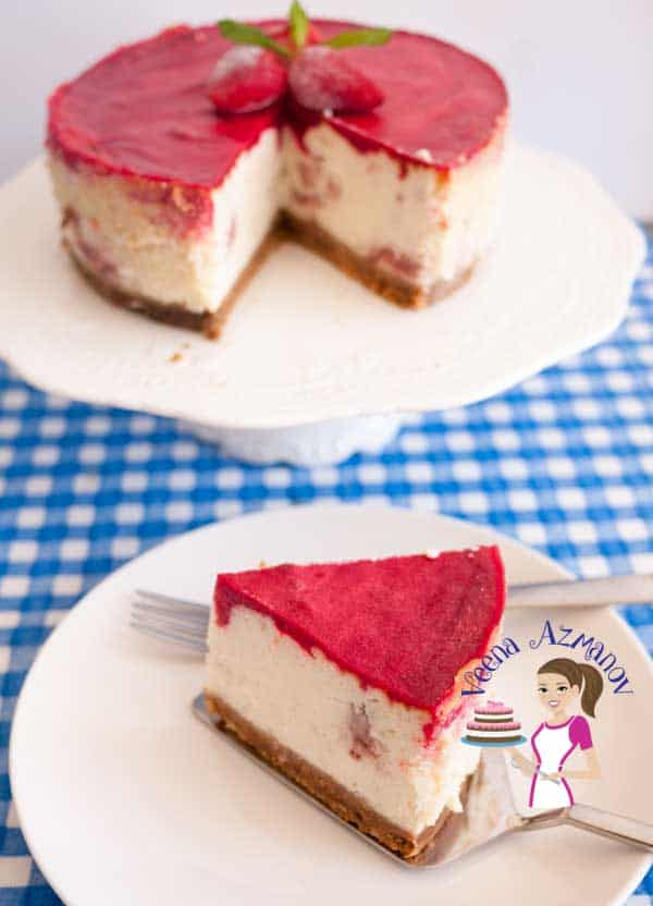 Strawberry cheesecake is an all time classic that everybody loves. Try this jello topping for variation because it's is so easy to make and so delicious to eat