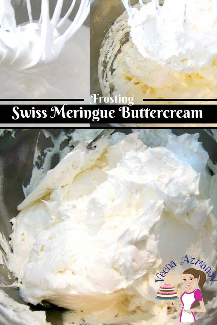 Swiss Meringue Buttercream (SMBC) is made with egg white and granulated sugar instead of powder sugar. So it's usually less sweet; more creamy and has a velvet like silky smooth feel on the tongue. It can be used as any other frosting over cupcakes, under fondant covered cakes as well as in Macarons.