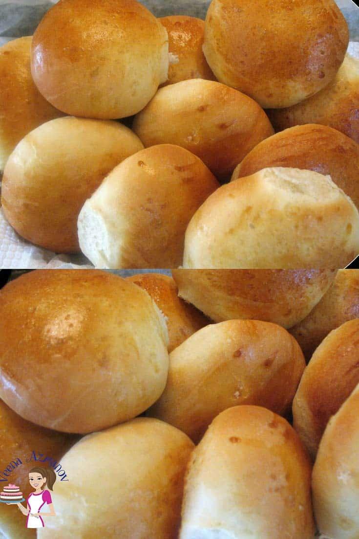 the best homemade soft dinner rolls ever veena azmanov