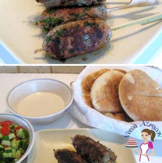 These Turkey Kebabs are a popular middle eastern kebabs recipe usually made with ground lamb or beef. This simple, easy and effortless recipe uses ground turkey as a much healthier option and is pan cooked making it a hassle free weekday meal. Serve with simple pita bread, a side salad and delicious tahini sauce and you have a meal.