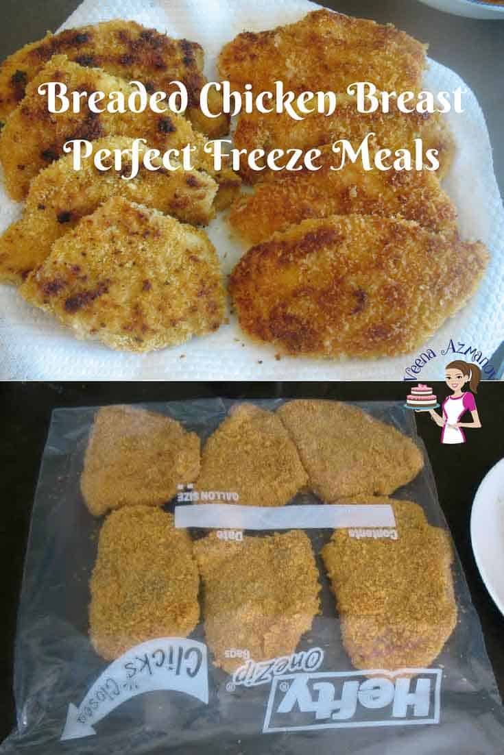 Breaded Chicken Breast Not Fried Chicken Schnitzel