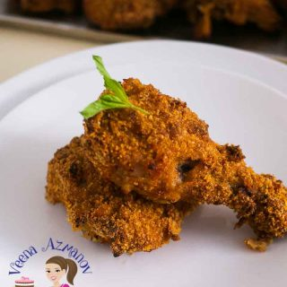 Who does not love crispy chicken? But not all crispy chicken needs to be deep fried in oil. You can prepare the same soft juicy tender chicken on the inside with that gorgeous golden crispy coating on the outside in an oven too? Here is how I make my oven baked buttermilk crispy chicken.