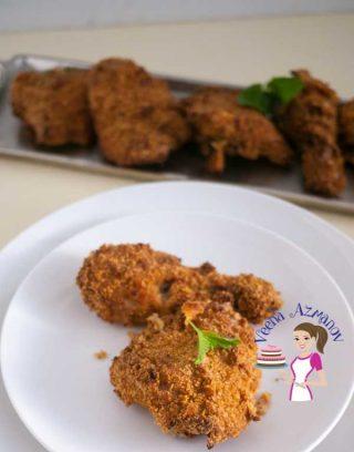 Oven Baked Buttermilk Crispy Chicken