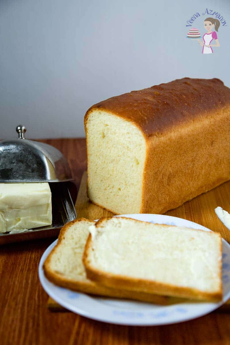 Best White Sandwich Bread Recipe Veena Azmanov