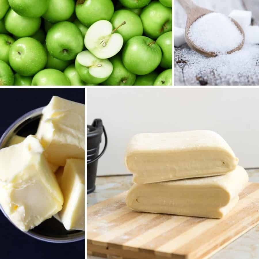 How to make up-side down pastry or tarte-tatin with apples and honey