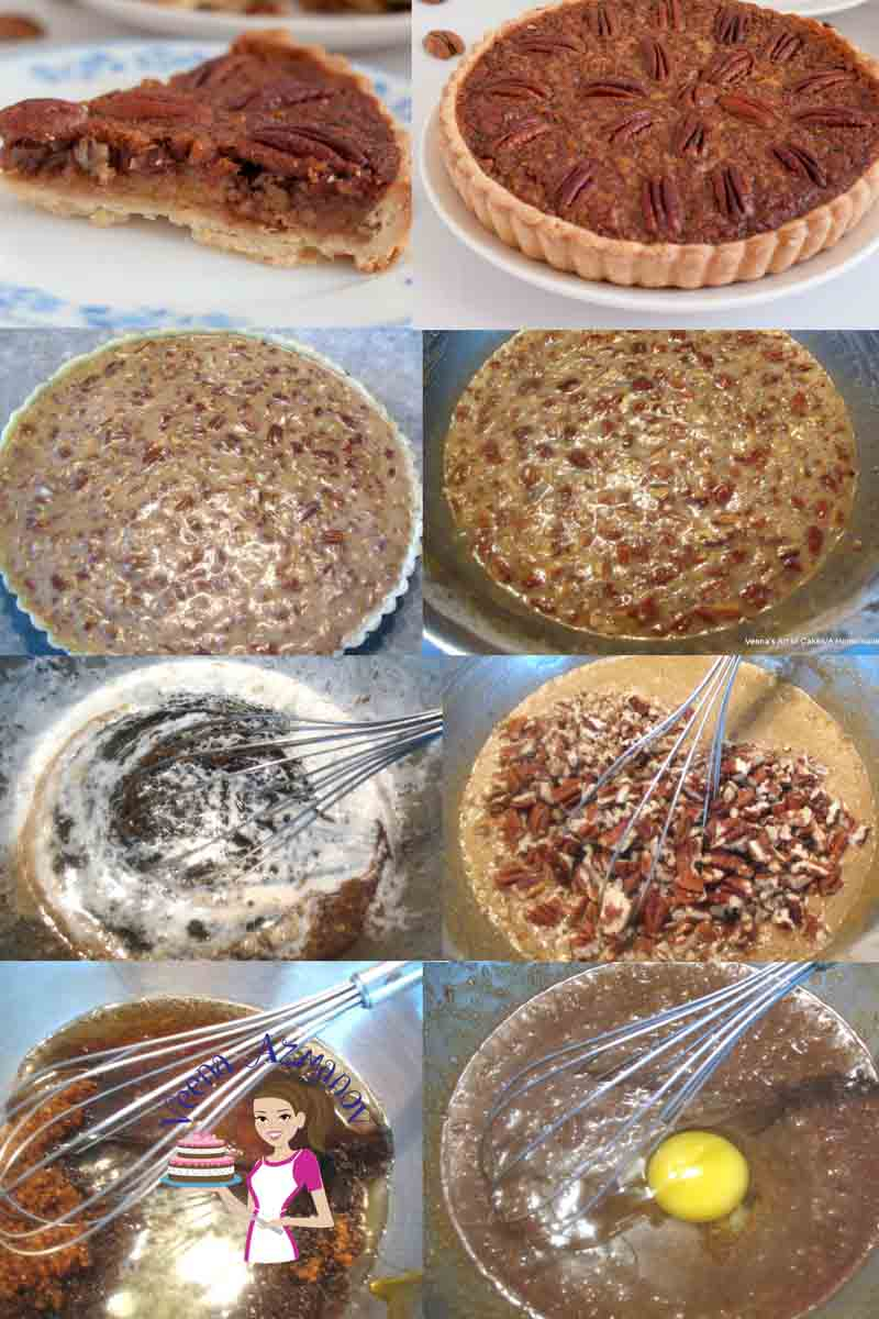 This is a delicious and beautiful classic Pecan Pie. Soften creamy filling made with golden syrup, brown sugar and whipping cream then baked into a homemade flaky pie crust. Just one bite will send your taste buds singing.