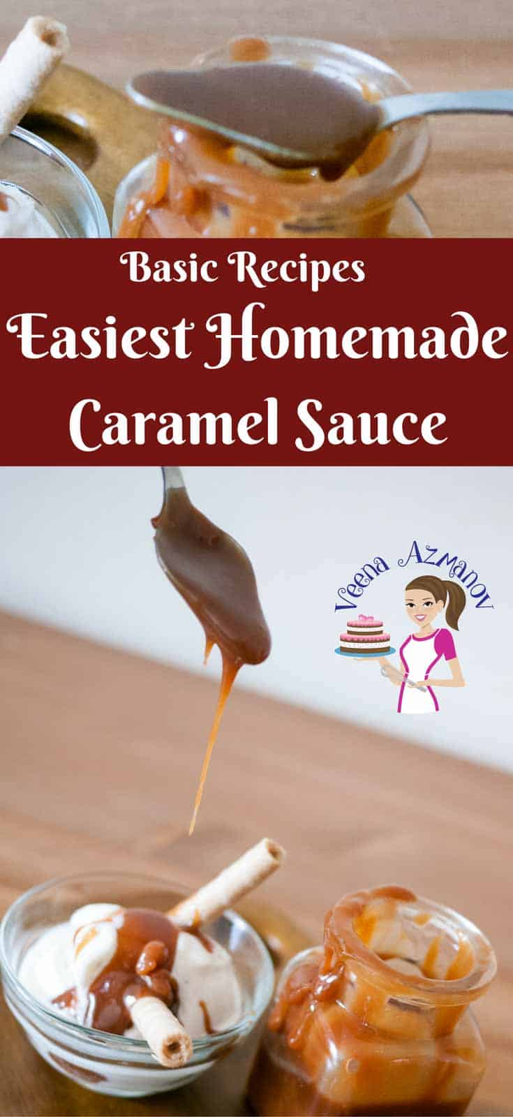 Caramel Sauce is the simplest treat you can use to take a simple dessert and add that extra wow. Making Homemade Caramel Sauce is easier than most people think! It takes about 5 minutes to make one cup caramel with just a sauce pan and wooden spoon.