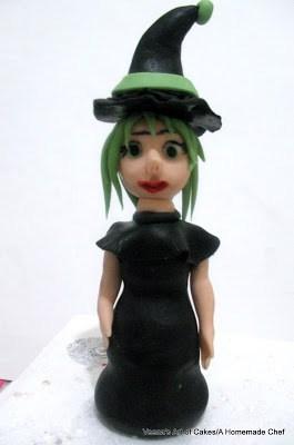 Gum paste Witch Hat