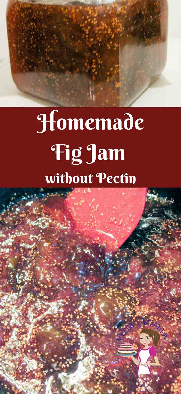 This homemade fig jam recipe is soft, fruity, delicious and easy to spread. In this video I show you how to make this classic jam recipe without using any pectin or artificial flavorings just like our moms and grandmas use to do it.