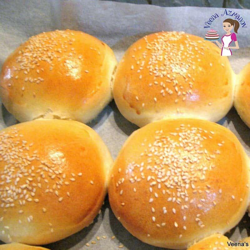How to make homemade hamburger rolls