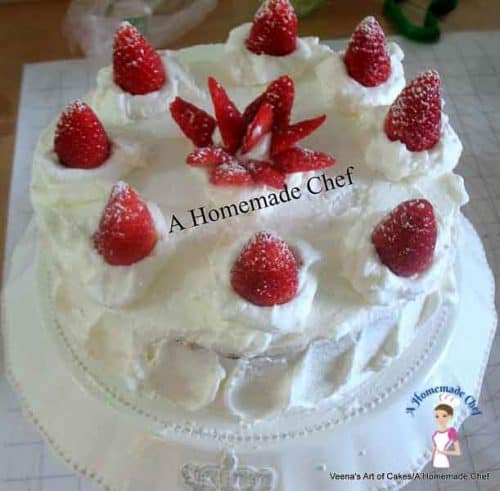 How to Stabilize Whipped Cream - What's most important about cakes with whipped cream is the consistency of the cream. Often you cannot pipe with unless you stabilize it. Great post by Veena's Art of Cakes
