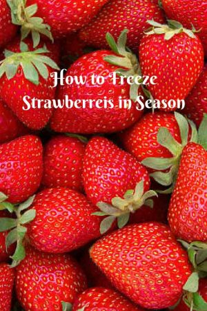 How to Freeze Strawberries – Easiest Method EVER!