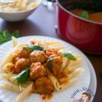 Turkey Meatball Pasta Made with Fresh Tomatoes