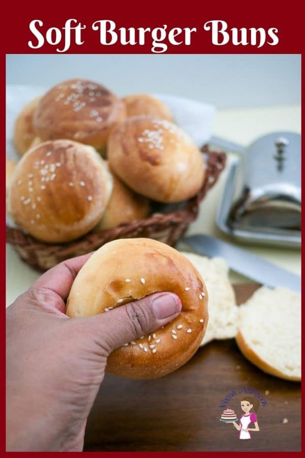 These soft burger buns are the best recipe you will ever make the next time you plan a burger feast. They are soft, fluffy and golden but most importantly they melt in the mouth. This simple, easy and effortless recipe will have you making homemade hamburger buns every time you decide to make homemade Burgers.