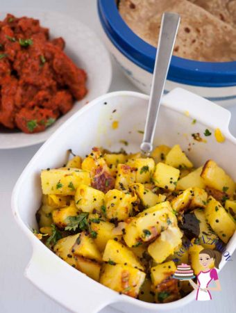 Quick Indian Spiced Potatoes in JUST 20 minutes