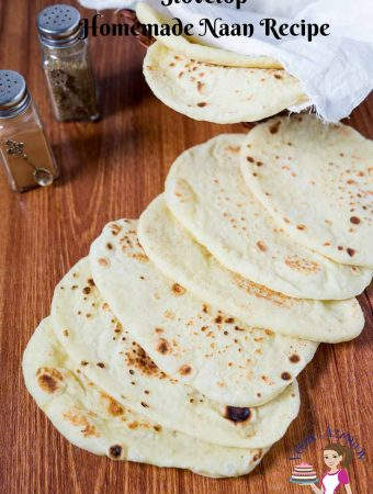 Stovetop Homemade Naan – Indian Bread