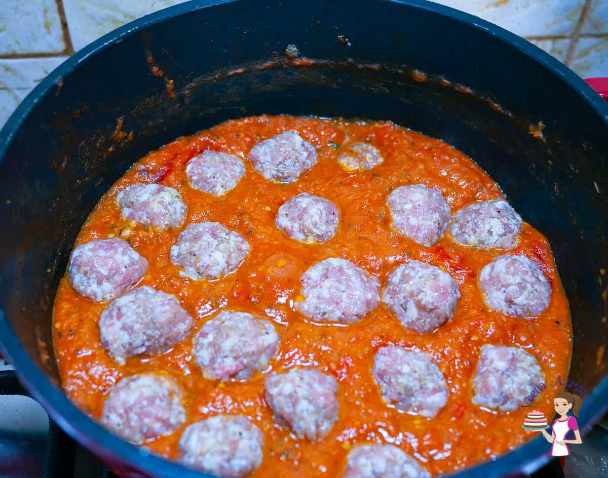 How to make a skinny spaghetti meatballs with ground turkey