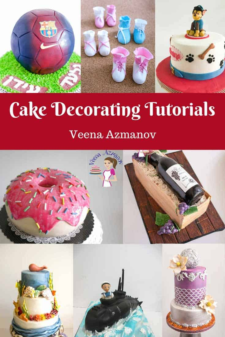 Cake Decorating Tutorial by Veena Azmanov