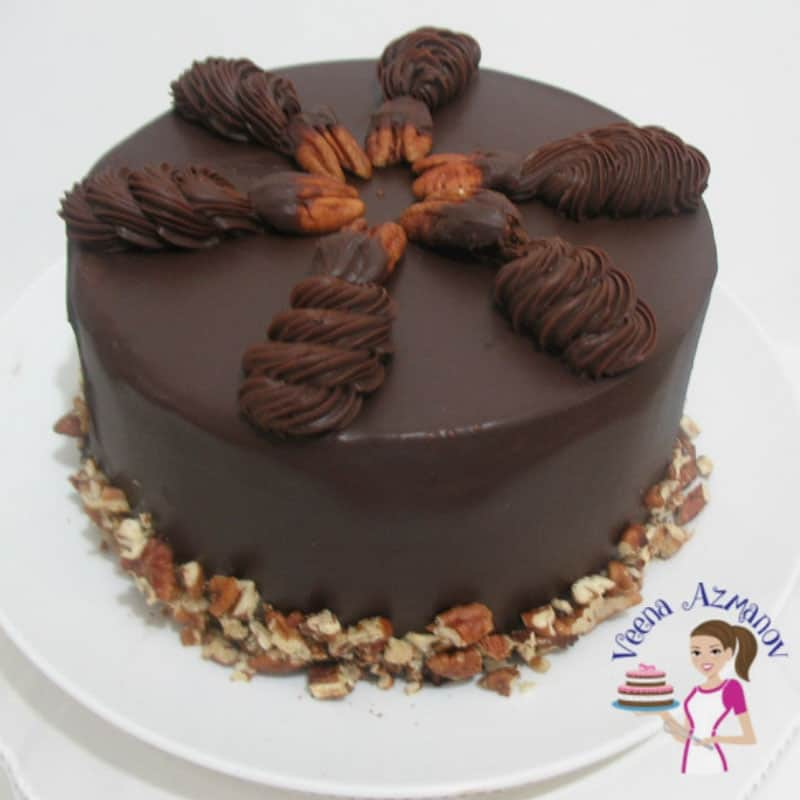 Chocolate Ganache Cake Chocolate Cake With Chocolate Ganache