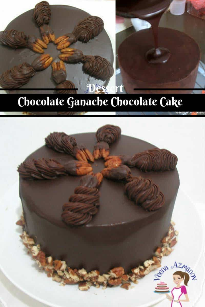 Chocolate Ganache Chocolate Cake - Perfect for any Celebration ...