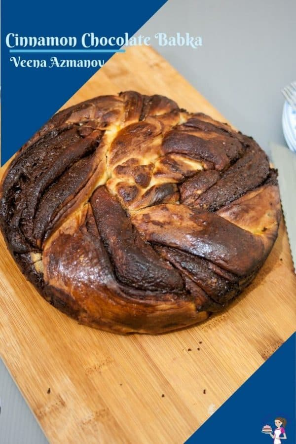 An image for babka to save on pinterest