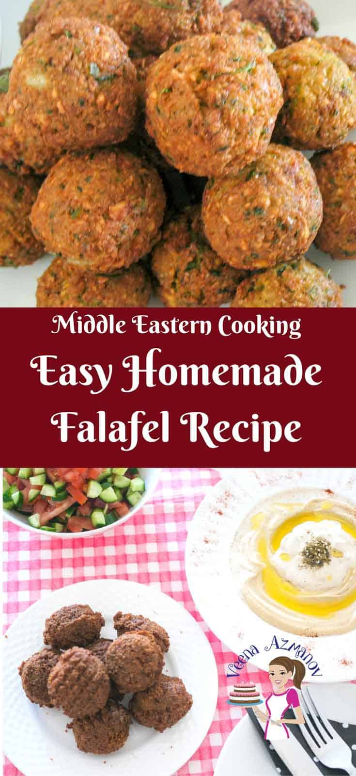 This Middle Eastern Classic is an all time favorite and often perceived as a best eaten out.  My easy homemade falafel recipe along with my tips and tricks will show you how simple easy and absolutely fun it can be.
