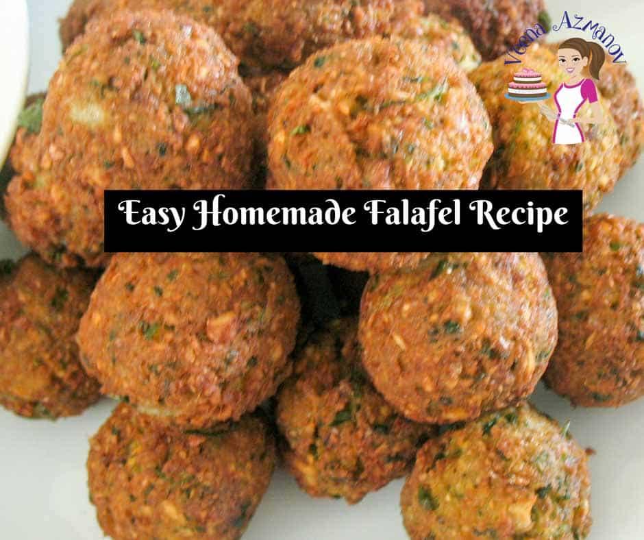 Israeli falafel recipe