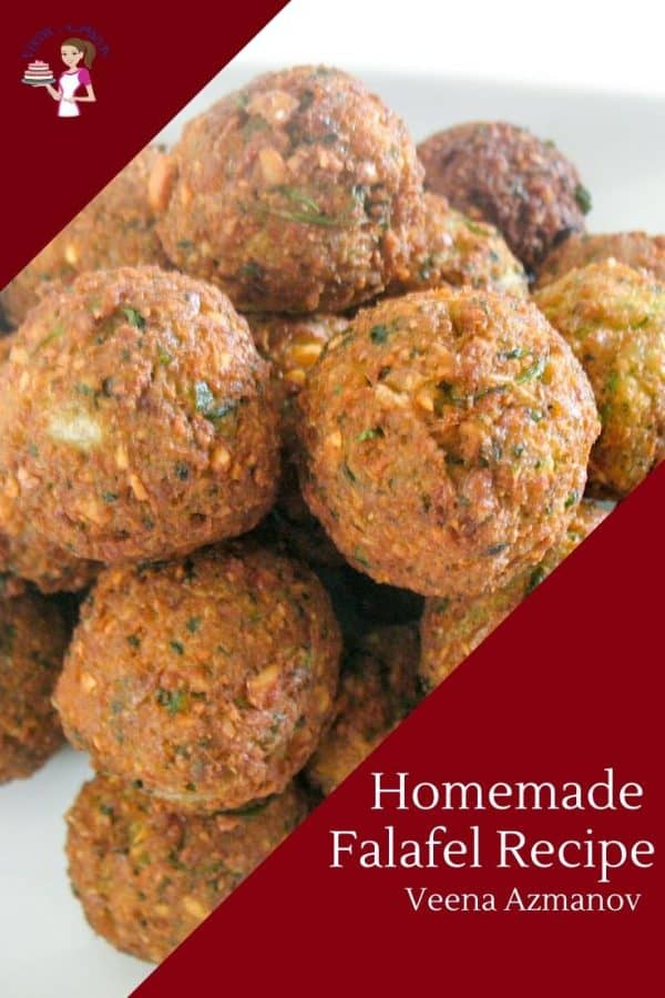 How to made this Middle Eastern falafel with Chickpeas