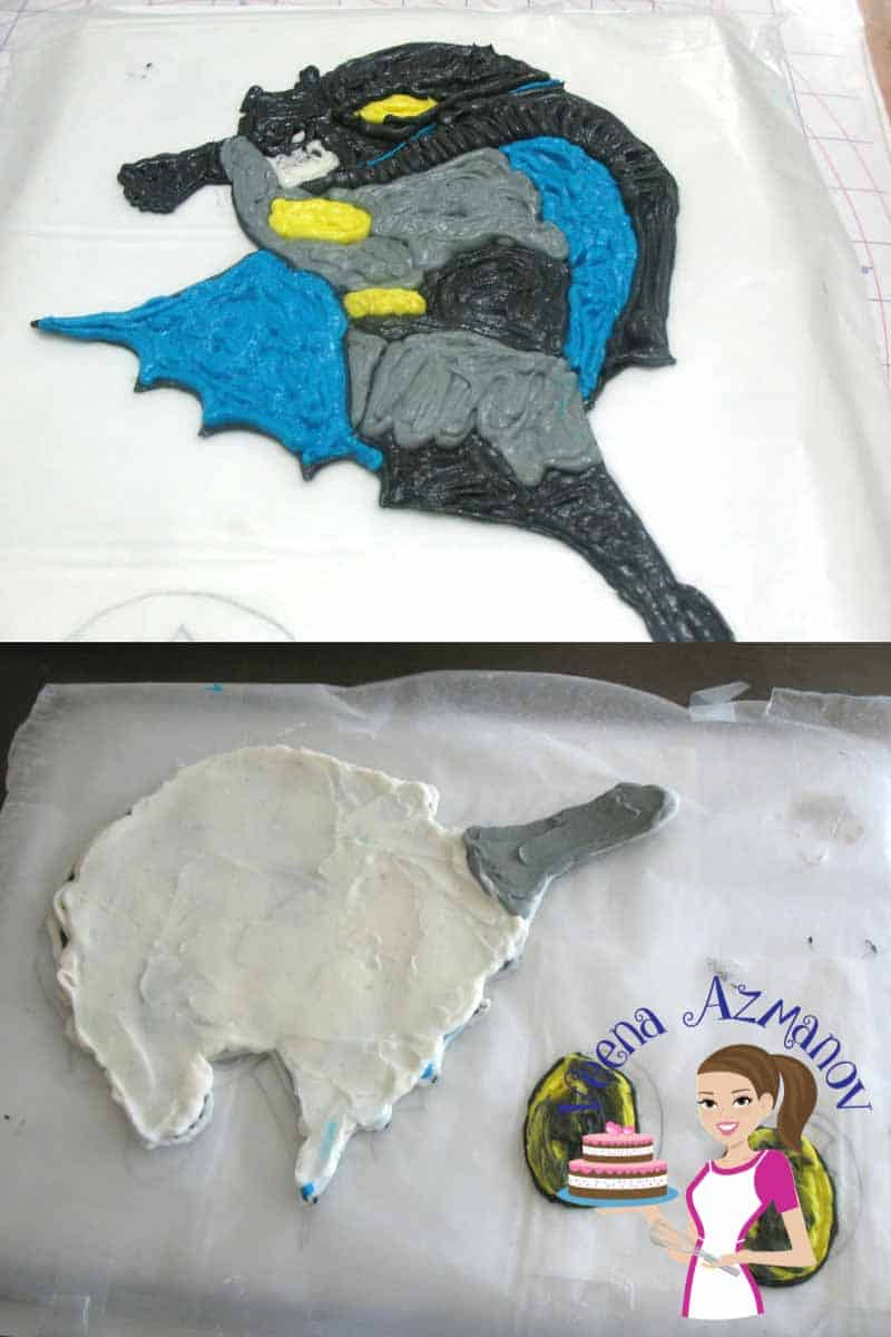 A frozen buttercream transfer is a great way to make an edible image for your cakes. With the right recipe and right technique this cane be a simple and easy project that can be done ahead of time and saved in the freezer until needed.