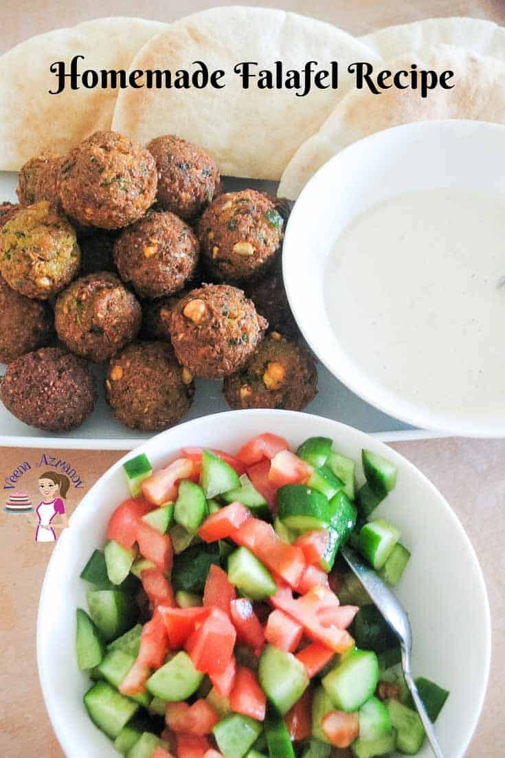 Falafel, Homemade, Chickpeas, Middle Eastern
