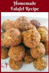 Falafel, Homemade, Chickpeas, Middle Eastern