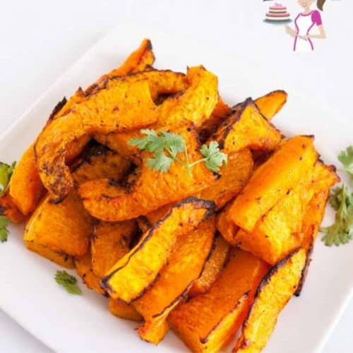 vegetable fries on a plate
