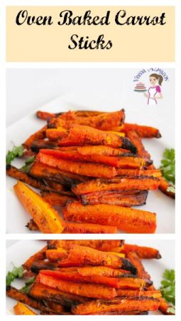Oven Baked Carrot Sticks – Make Carrots Tasty