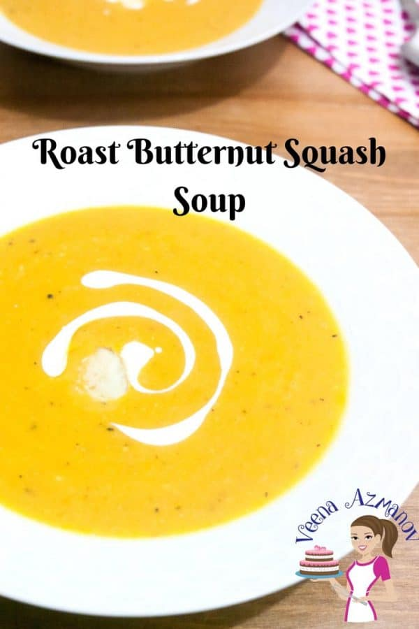 Roasting butternut squash adds a ton of favor making it more sweet and flavorful. This roasted butternut squash soup is perfect cooler temperatures when you need something warm, comforting, light and still fulfilling. Add in a small bowl of salad and a slice of crusty bread to dig in and you got a comfort meal you will love to enjoy.