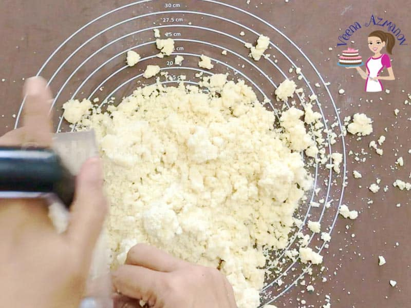 How to make shortcrust pastry in the food processor Progress Pictures