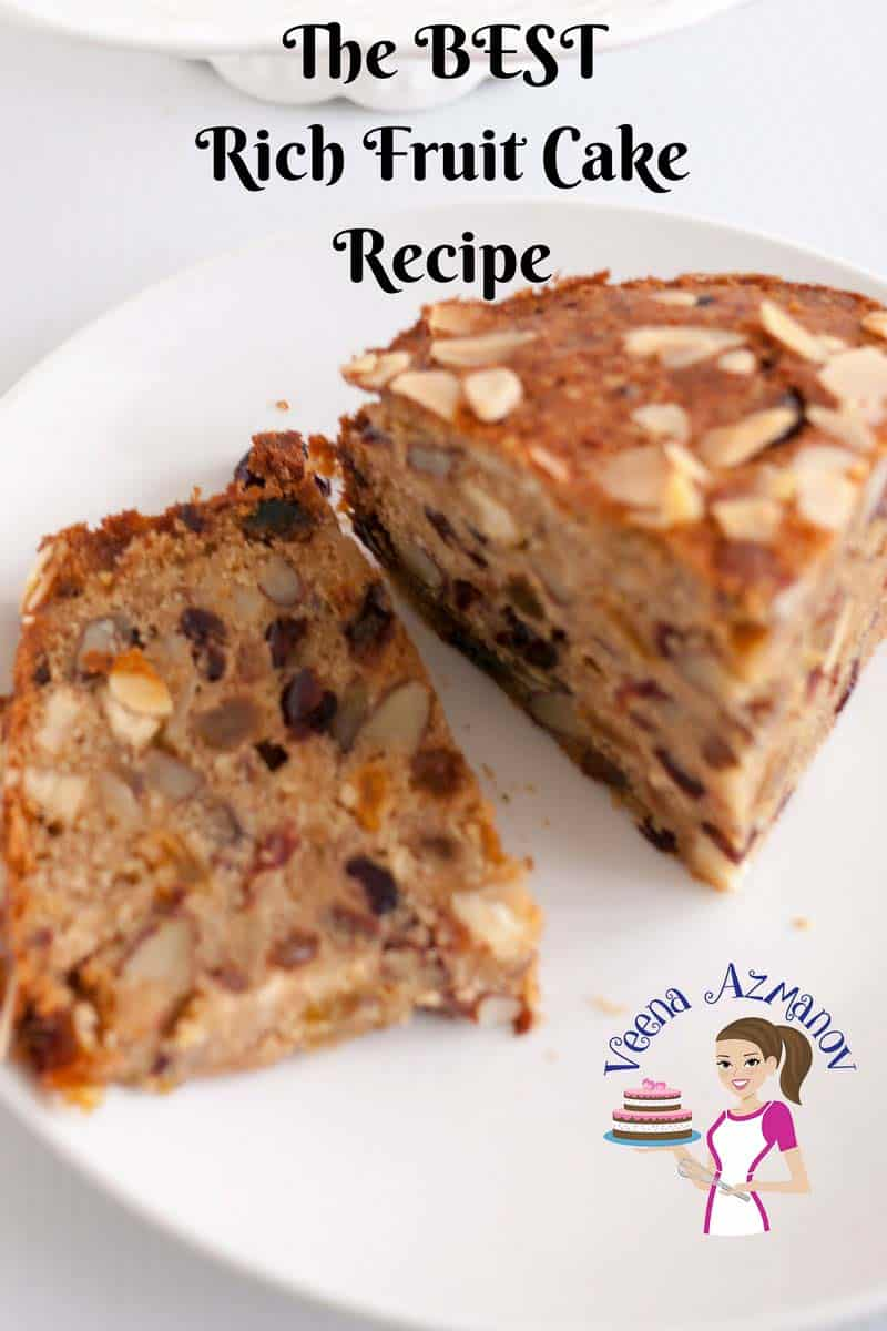 Best Ever Rich Fruit Cake Recipe