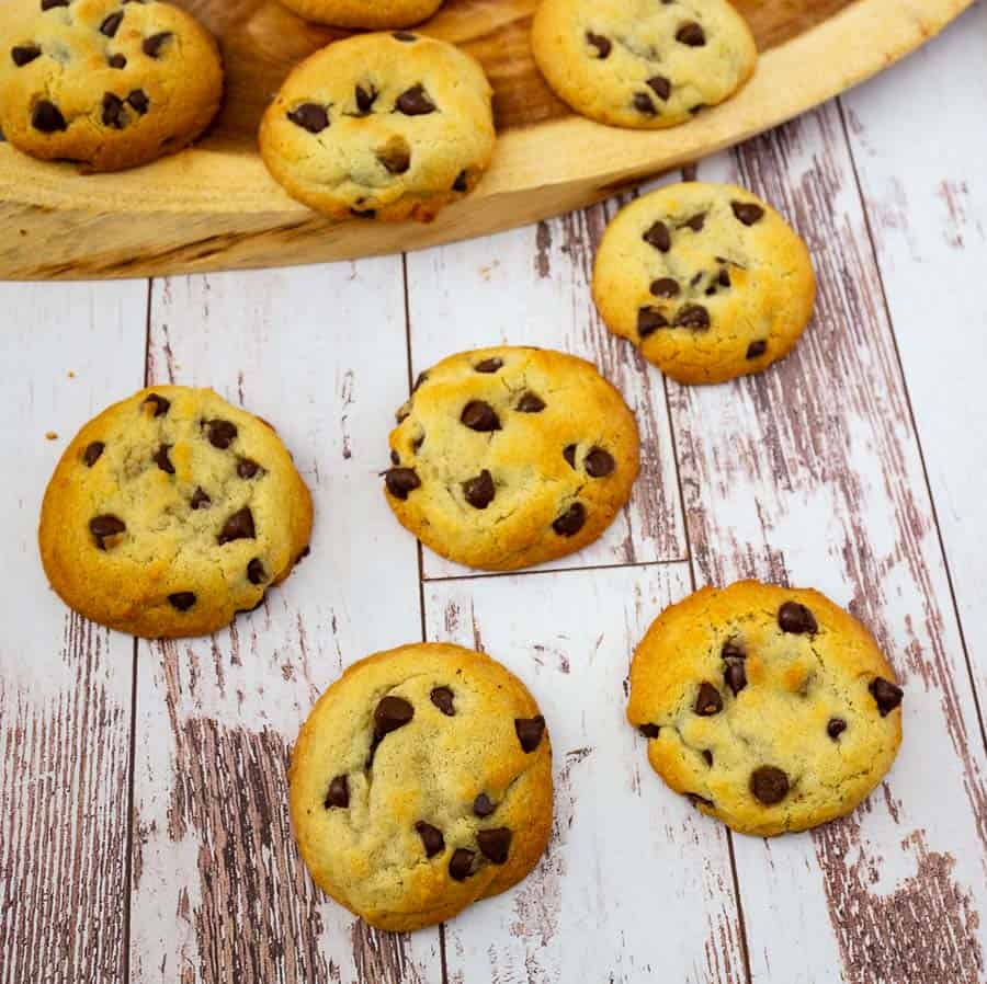 Homemade Cookies made perfect with Chocolate Chips, Soft and Chewy