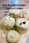 Need breakfast on the go? Try these easy oatmeal cookies or breakfast cookies. Made with rolled oats, raisins and pecans in just 15 minutes.