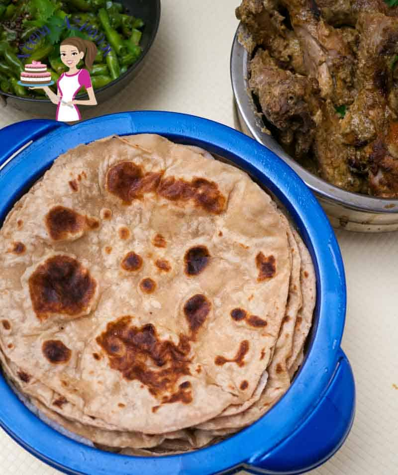 How to make Indian Chapati or Whole Wheat Tortilla