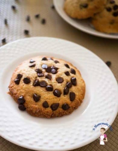 Chocolate Chip Cookies - the best chocolate chip cookie recipe soft and chewy on the inside crisp on the out; absolute perfection by Veena Azmanov