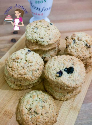 Nothing beats the smell and taste of home baked fresh Oatmeal cookies. The addition of oatmeal with the fruit and nuts makes them a sumptuous and perfect for a snack or even a quick breakfast.