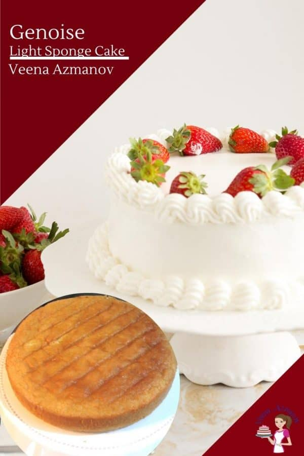 How to bake a light sponge cake