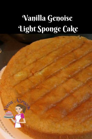 Vanilla Genoise Recipe Light Sponge Cake