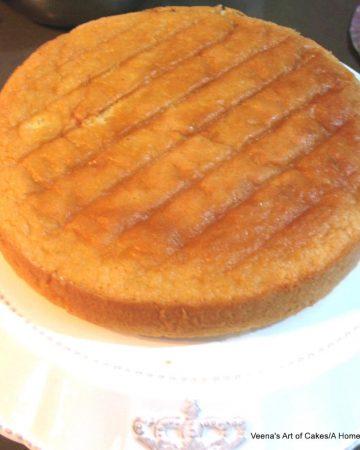 A Genoise light sponge cake.