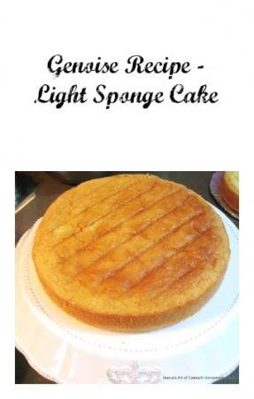 Genoise Recipe – Light Sponge Cake