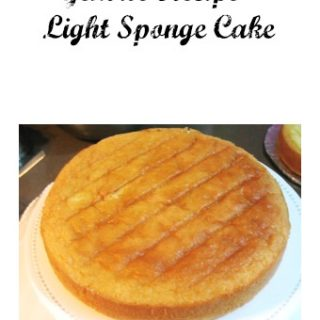 A Genoise is a light sponge cake that makes a perfect dessert. .It's light in texture and flavor which makes it perfect with fresh fruits and whipped cream