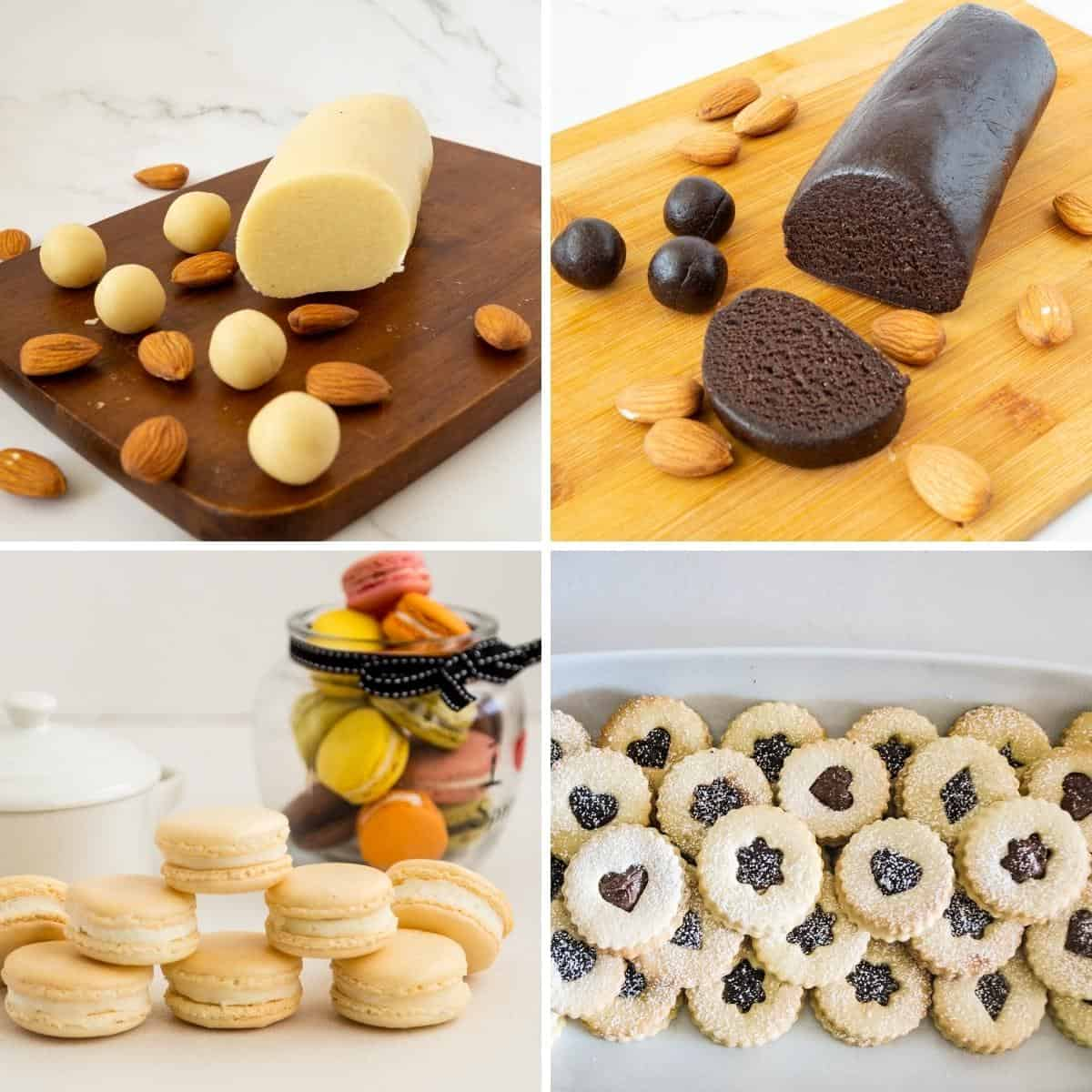 Treats you can make with almond meal.
