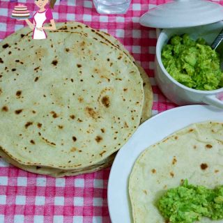 These easy homemade healthy tortillas are a real treat when made fresh especially considering the store bought alternatives which has loaded preservatives and palm oil to keep them soft. This easy recipe will have you making them as often as I do.